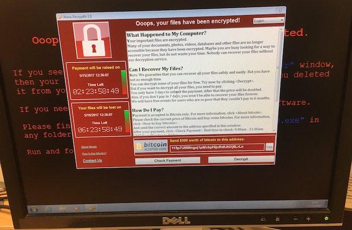 Ransomware Hopitaux Britanniques