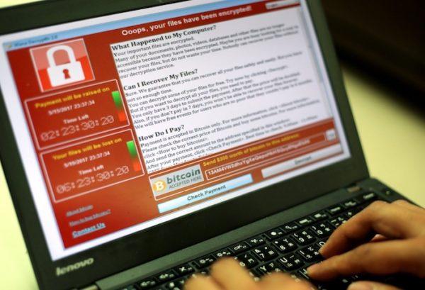 Ransomware WannaCry 600x409