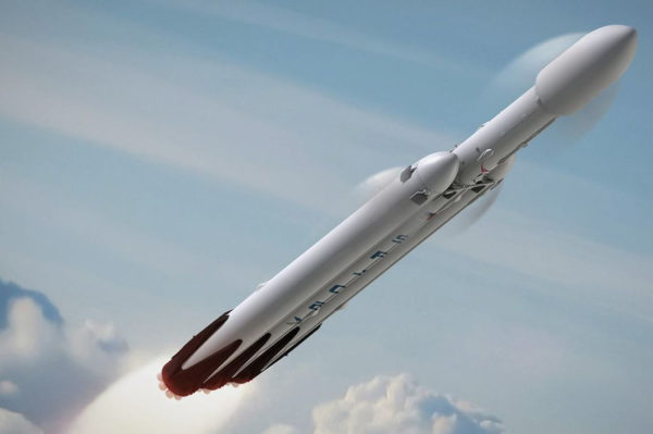 SpaceX Falcon Heavy Artist Rendering.0.0 600x399