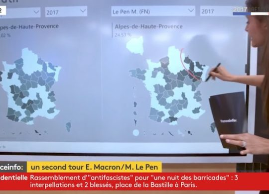 Surface Hub Election Presidentielle
