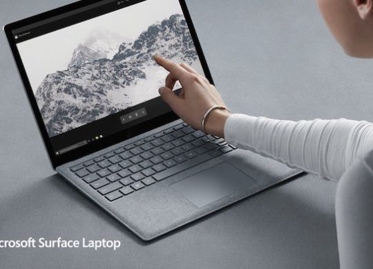 Surface Laptop Ecran Tactile