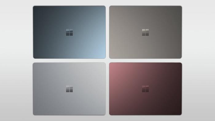 Surface Laptop Officiel Coloris