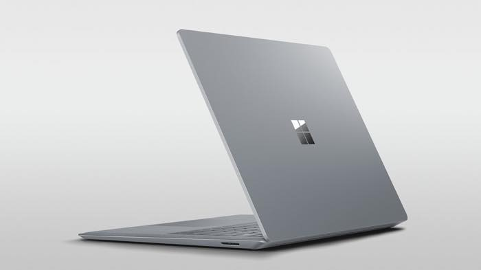 Surface Laptop Officiel Dos