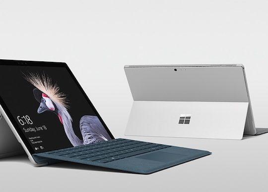 Surface Pro 2017 Officiel