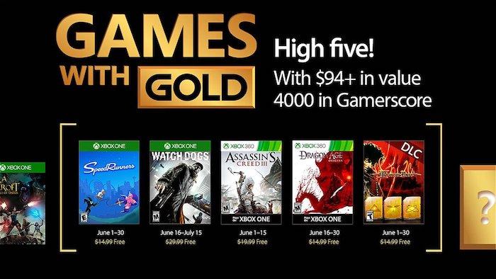 Xbox Live Gold Jeux Offerts Juin 2017