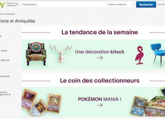 eBay Objets Collection Antiquites