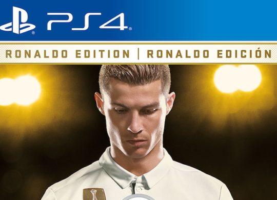 FIFA 18 Jaquette Ronaldo Recadre