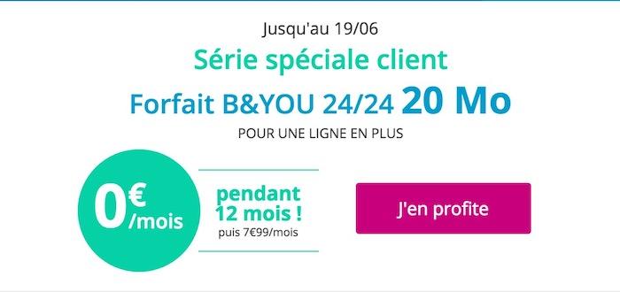 Forfait Gratuit Bouygues Telecom Promo Juin 2017