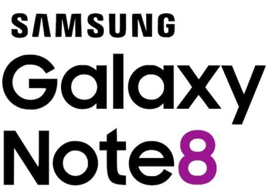 Galaxy Note 8 Logo