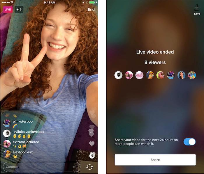 Instagram Stories Replay Video Direct