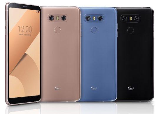 LG G6 Nouveaux Coloris