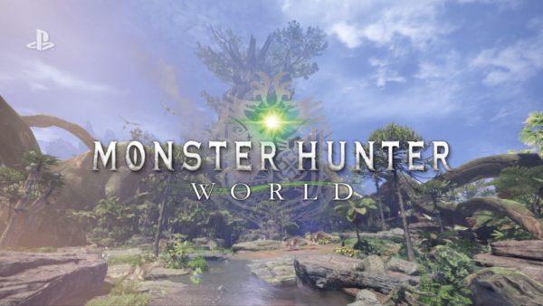 MONSTER HUNTER WORLD 600x338