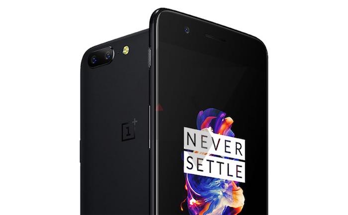OnePlus 5 Avant Arriere Officiel