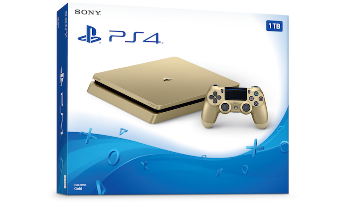 PlayStation 4 Slim Couleur Or Officiel
