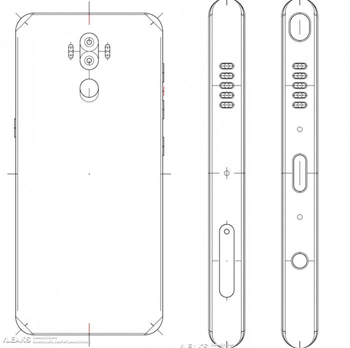 Supposes Schemas Galaxy Note 8