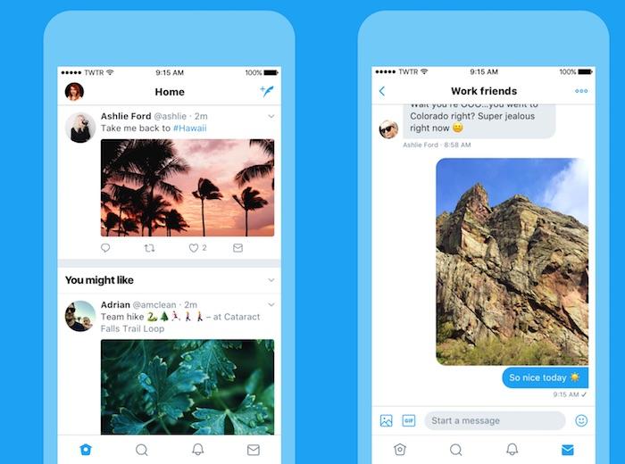 Twitter Nouveau Design Juin 2017