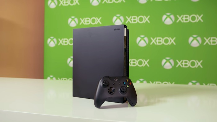 Xbox One X Debout Et Manette