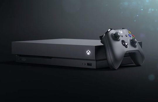 Xbox One X Officiel Et Manette