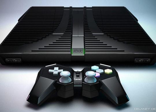 Atari Conole Concept – front