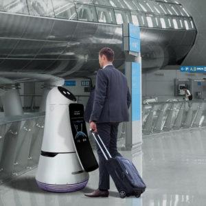 L'aéroport de Séoul accueille les nouveaux robots de service de LG