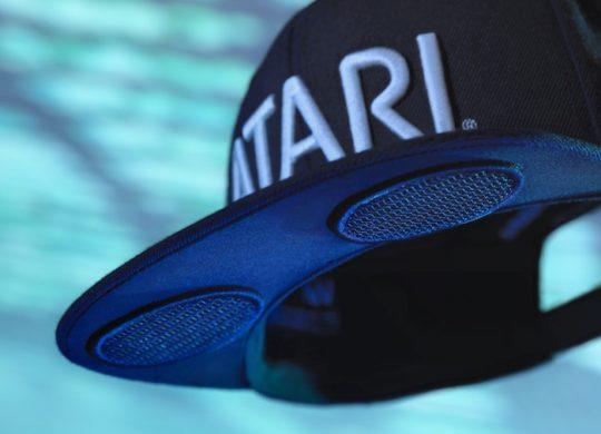Atari Spearkhat Casquette Haut-Parleurs