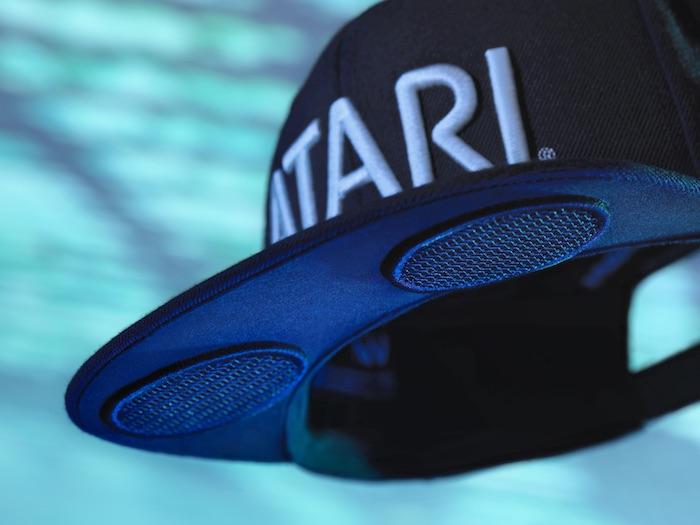 Atari Spearkhat Casquette Haut Parleurs