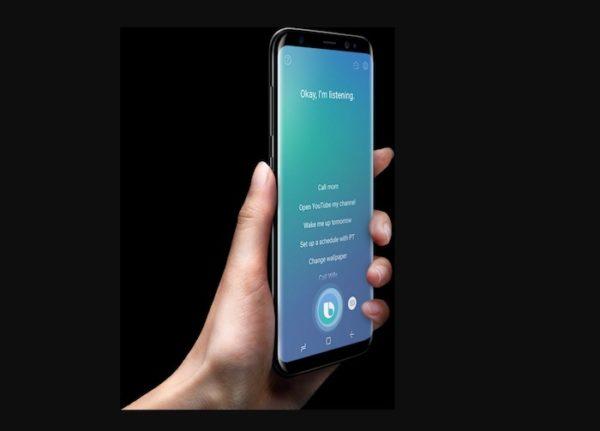 Bixby Galaxy S8 600x431