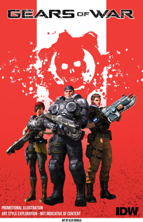 GEARS OF WAR COMIC 291x450
