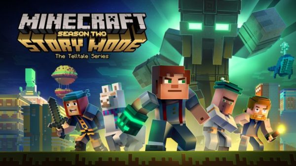 Minecraft Season 2 Ep 1 Logo 600x337