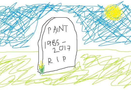 Paint Dessin 1985 2017
