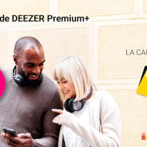 #Promo : un an d'abonnement à Deezer et la carte Fnac+ (pour être livré en 24h) à 60¬ au lieu 169¬