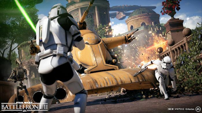 Star Wars Battlefront II Assaut Galactique