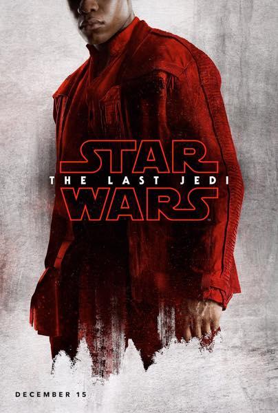 Star Wars Les Derniers Jedi Affiche Finn