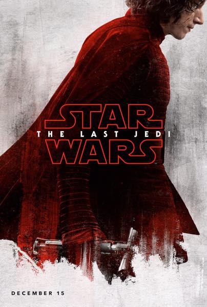Star Wars Les Derniers Jedi Affiche Kylo Ren
