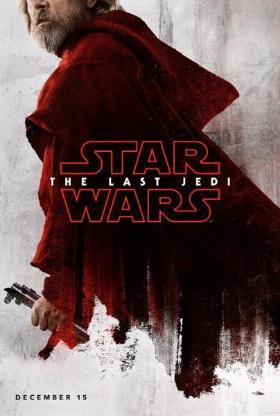 Star Wars Les Derniers Jedi Affiche Luke