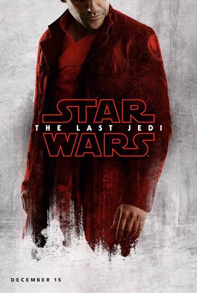 Star Wars Les Derniers Jedi Affiche Poe