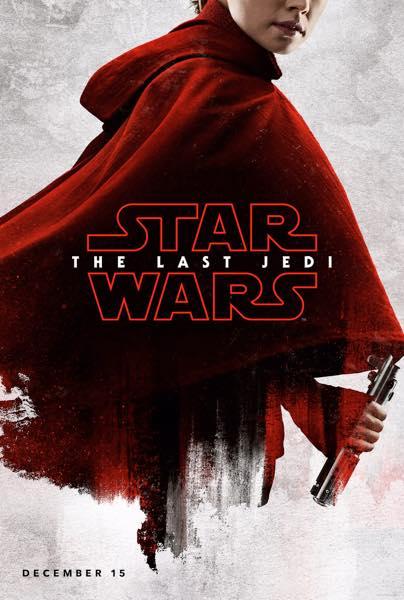 Star Wars Les Derniers Jedi Affiche Rey