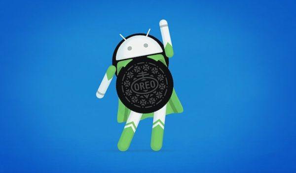 Android Oreo Logo 600x352