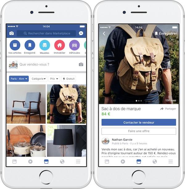 Facebook Marketplace France