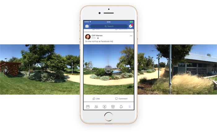 Facebook Photo 360 Degres