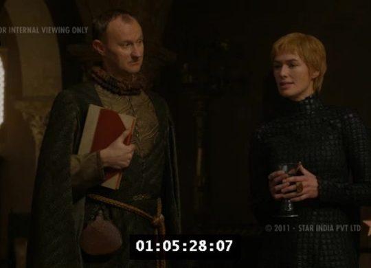 Fuite Game of Thrones S07E04