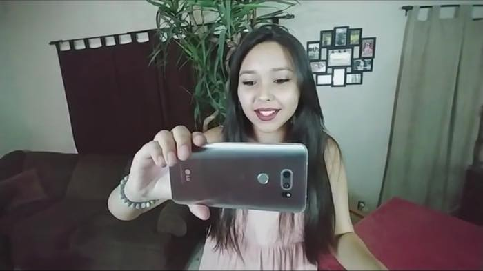 Fuite LG V30 2