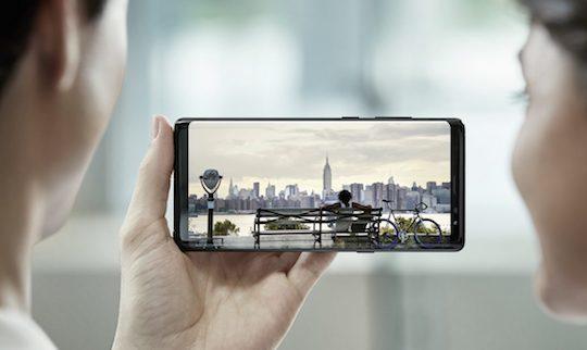 Galaxy Note 8 Ecran Officiel
