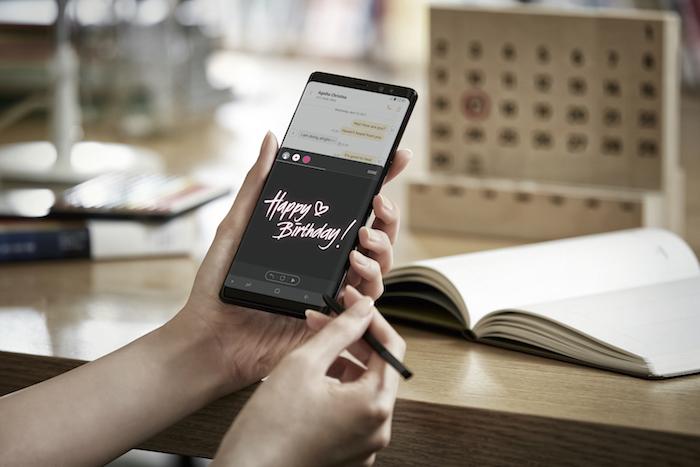 Galaxy Note 8 S Pen Officiel