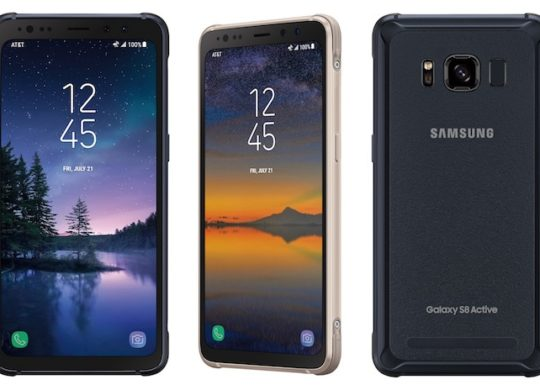 Galaxy S8 Active Officiel Avant Arriere