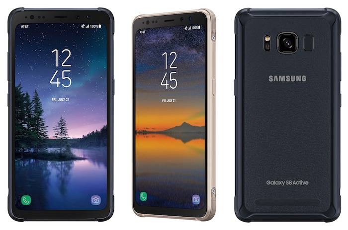 Galaxy S8 Active Officiel Avant Arriere