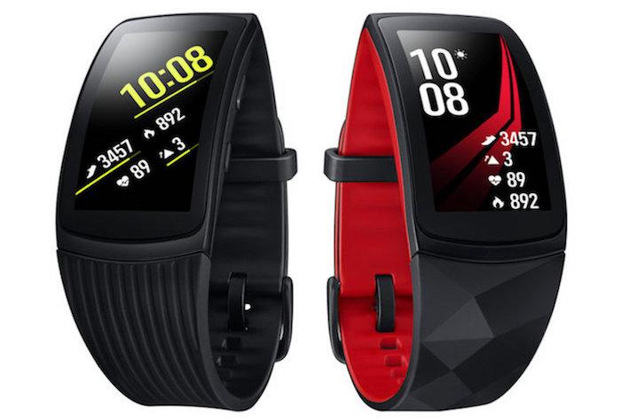 Gear Fit 2 Pro Noir Rouge