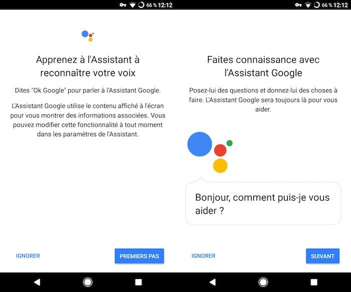Google Assistant Configuration Francais
