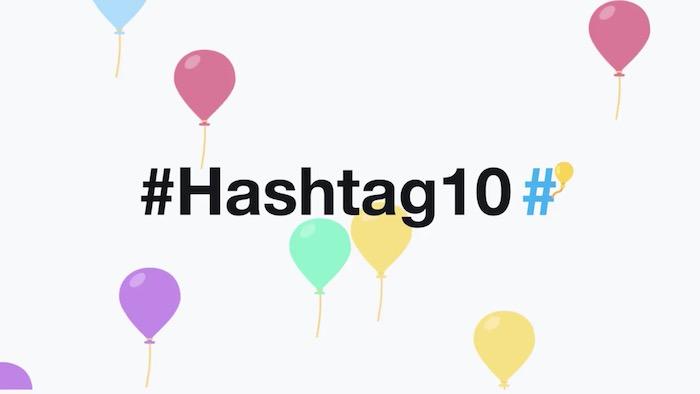 Hashtag 10 Ans