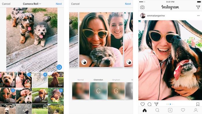 Instagram Photo Video Portrait Ou Paysage